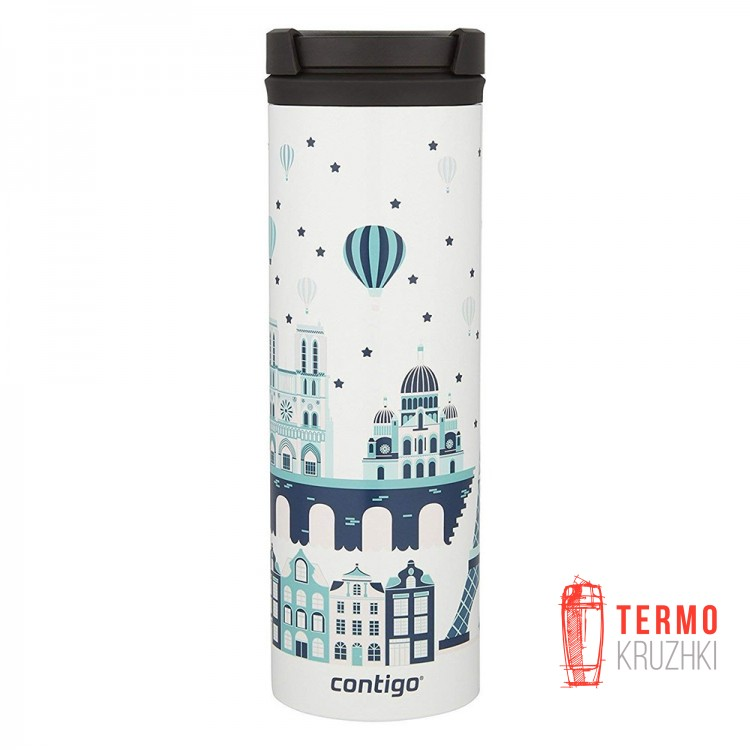 Tермокружка Contigo TwistSeal Eclipse 591ml White Paris
