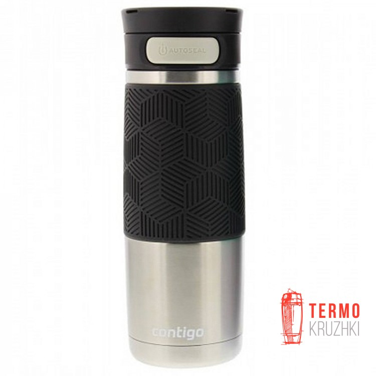 Термокружка Contigo Metra Transit Autoseal Steel Black 470 ml