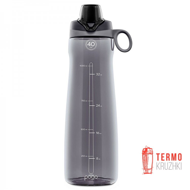 Бутылка Pogo Tritan Water Bottle 1183ml Gray