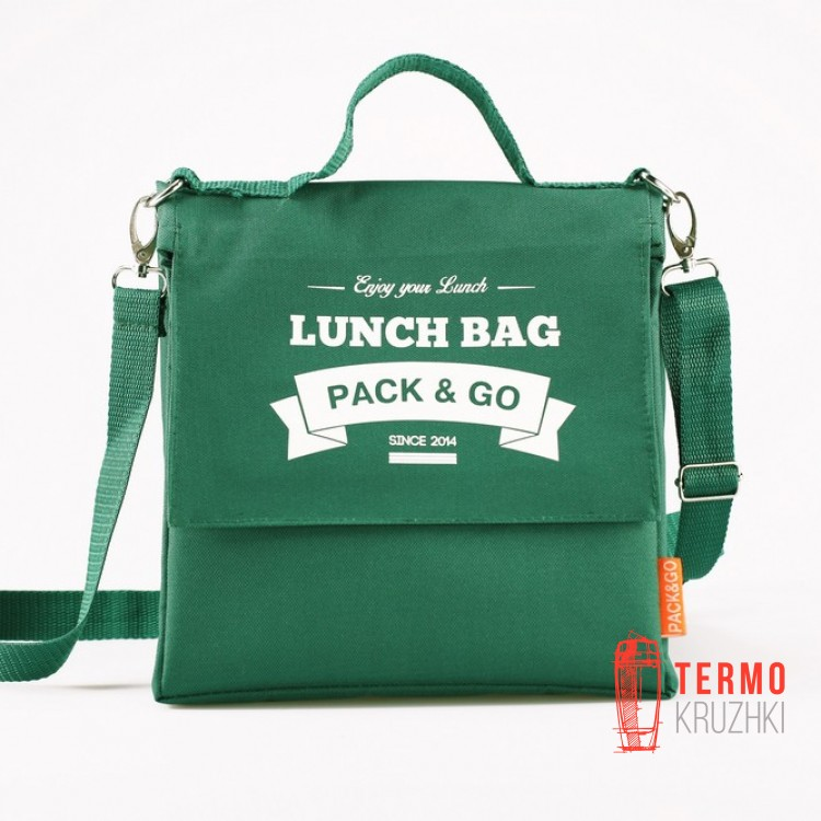 Ланчбег Lunch Bag L+ Зеленый
