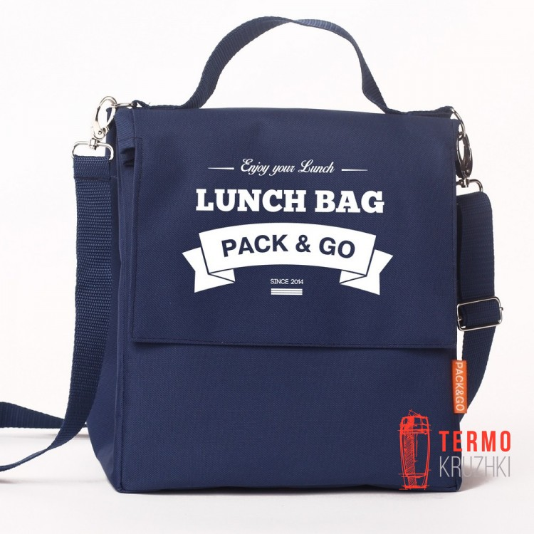 Ланчбег Lunch Bag L+ Синий