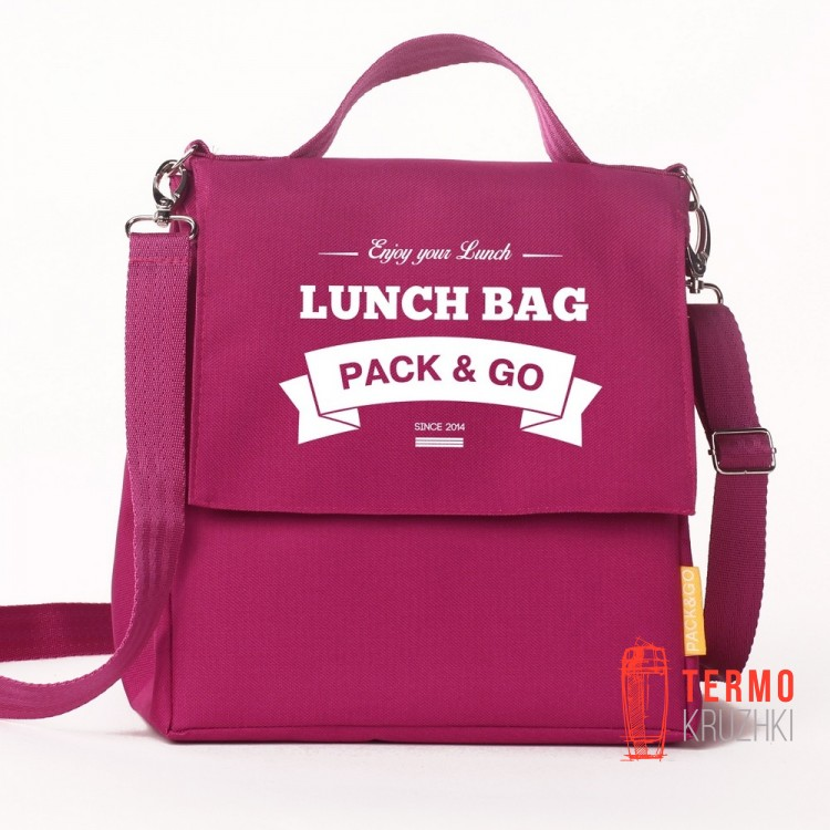Ланчбег Lunch Bag L+ Ягодный