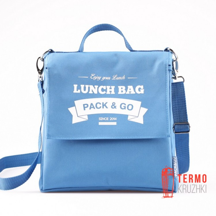 Ланчбег Lunch Bag L+ Небесный