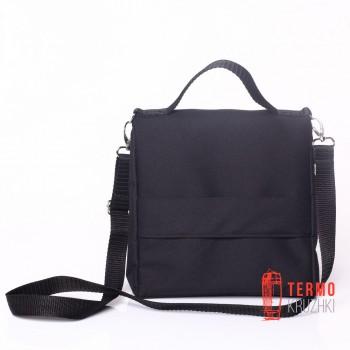 Ланчбег Lunch Bag L+ Без Лого черный