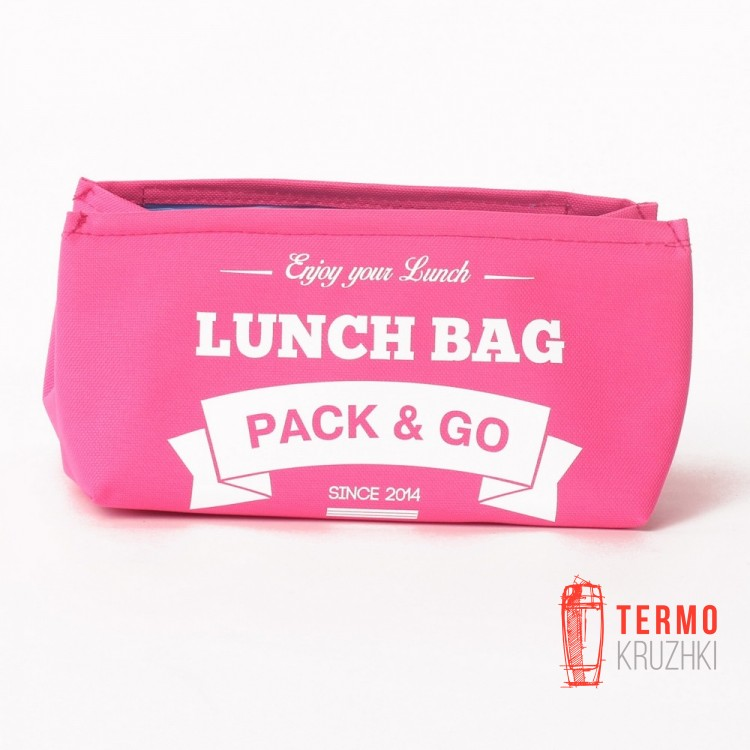 Ланчбег Lunch Bag S Розовый