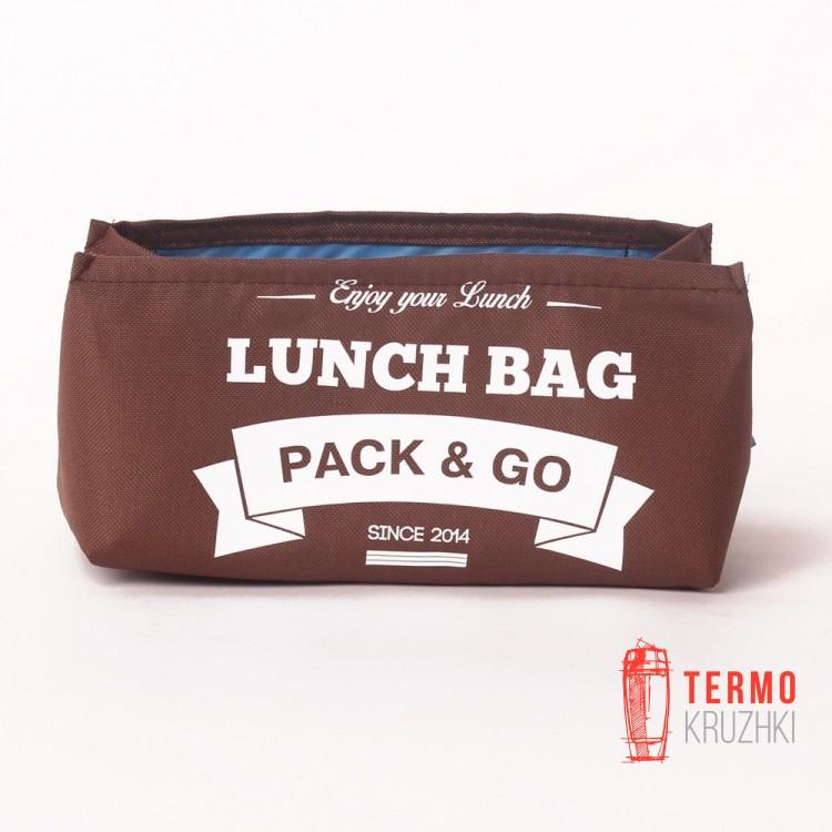 Ланчбег Lunch Bag S Коричневый