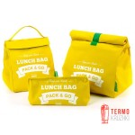 Комплект термосумок для ланча Lunch Bag  Желтый
