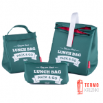 Комплект термосумок для ланча Lunch Bag  Зеленый