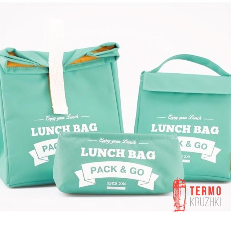Комплект термосумок для ланча Lunch Bag Мята