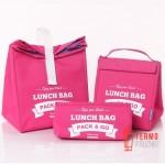 Комплект термосумок для ланча Lunch Bag  Pink
