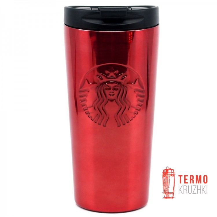 Термокружка Starbucks Red Stainless Steel Siren Logo 473 мл