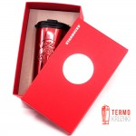 Термокружка Starbucks Red Stainless Steel Siren Logo 473 мл
