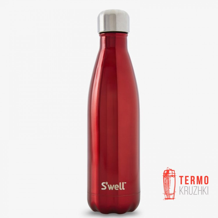 Термобутылка Swell  Shimmer Collection, Rowboat Red 500 мл