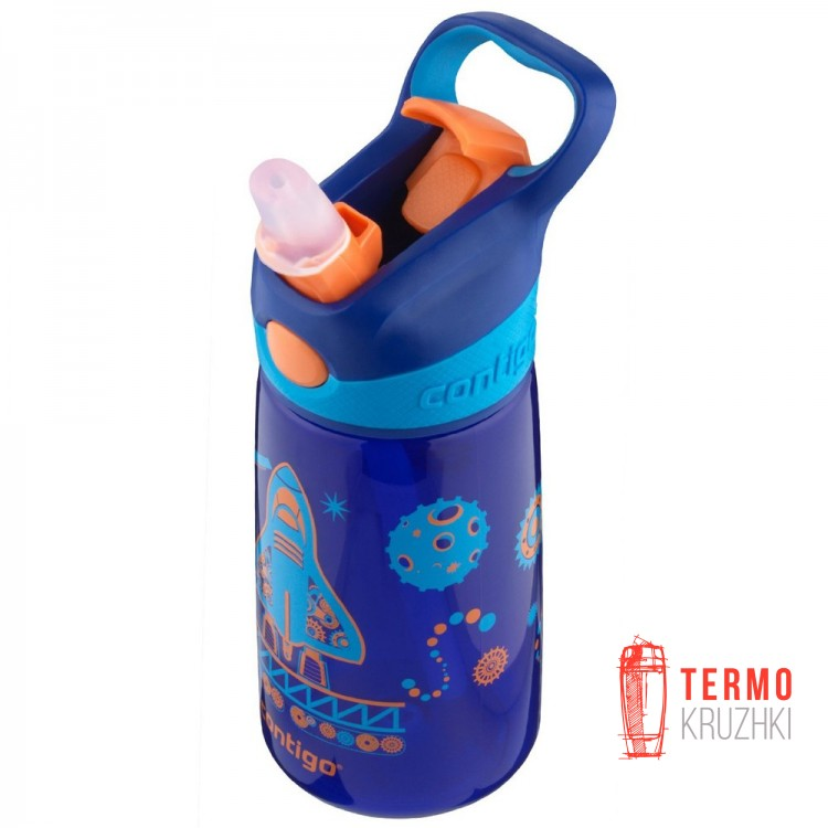 Детская бутылка для воды Contigo Striker Sapphire 420ml