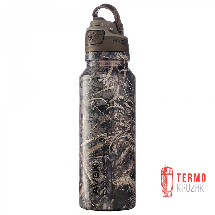 Термос Avex FreeFlow Stainless Autoseal Water Bottle 1200мл