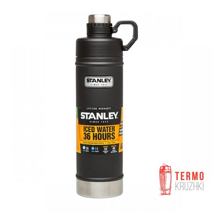 Термобутылка Stanley Classic 0.75 л Черная