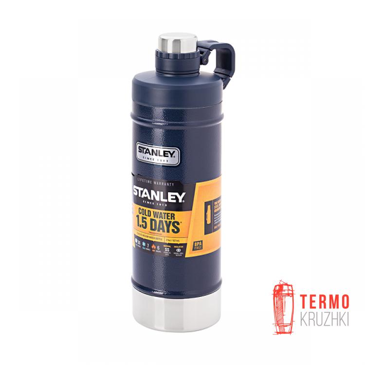 Термобутылка Stanley Classic 0.62 л Темно-синяя