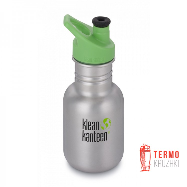 Фляга Kid Kanteen Classic Sippy Cap Brushed Stainless 355 ml