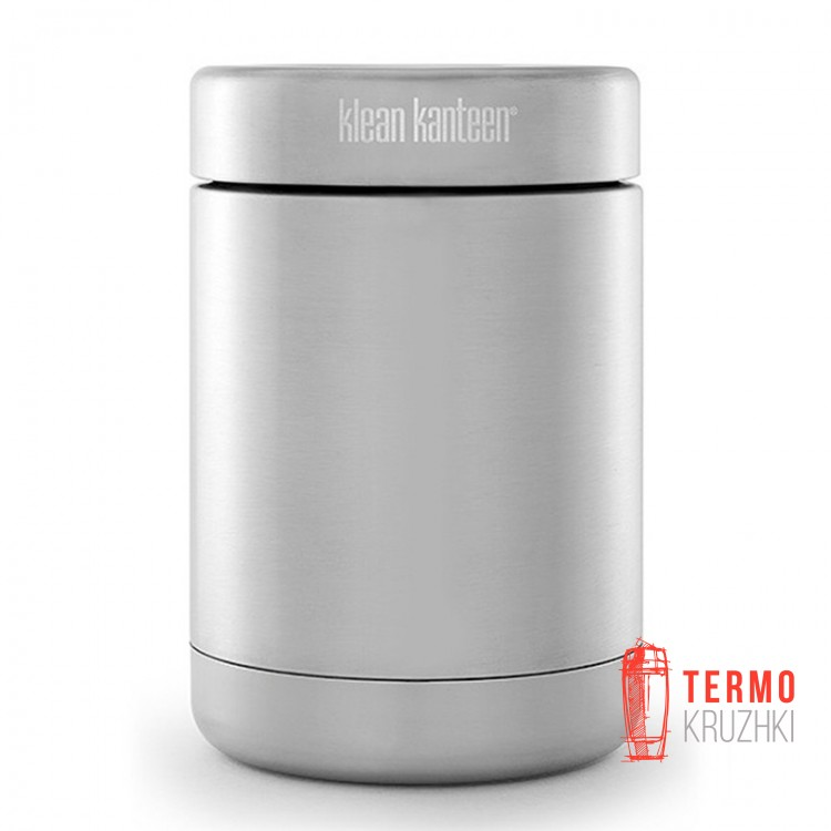 Пищевой термоконтейнер Klean Kanteen Insulated Food Canister Brushed Stainless 473 ml