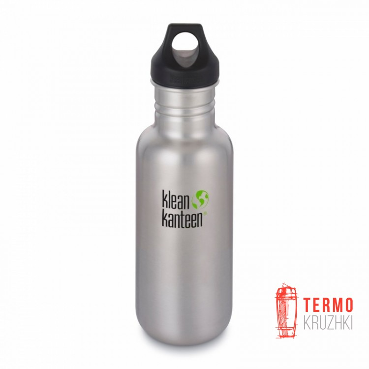 Фляга Klean Kanteen Classic Brushed Stainless 532 ml