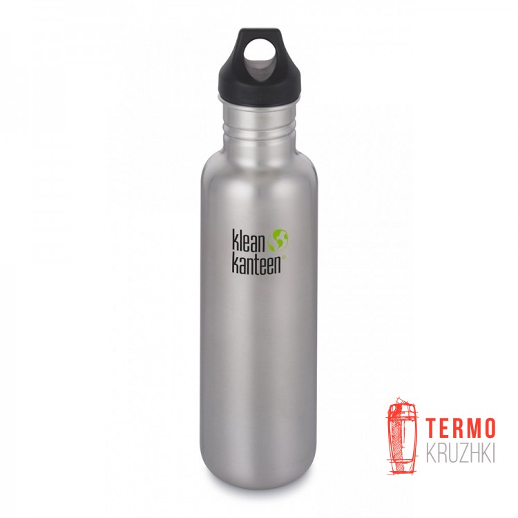 Фляга Klean Kanteen Classic Brushed Stainless 800 ml