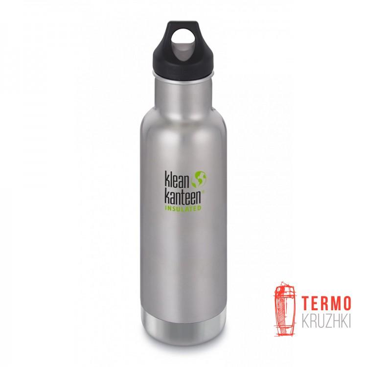 Термофляга Klean Kanteen Classic Vacuum Insulated Brushed Stainless 592 ml