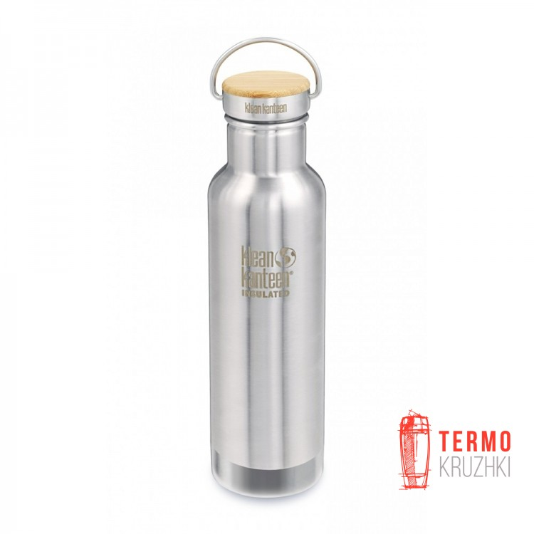 Термофляга Klean Kanteen Reflect Insulated Brushed Stainless 592 ml