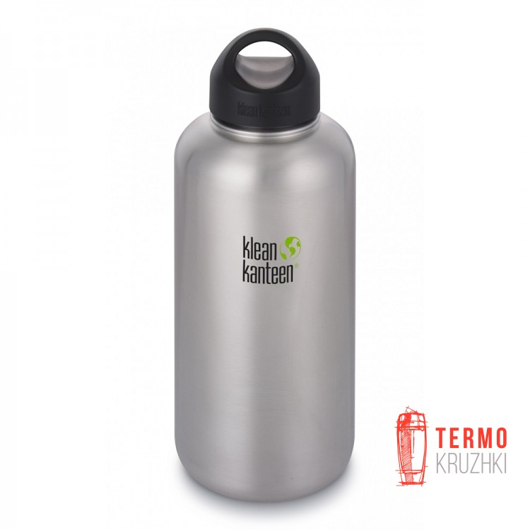 Фляга Klean Kanteen Wide Brushed Stainless 1900 ml