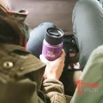 Термофляга Klean Kanteen Wide Vacuum Insulated Cafe Cap Vinyard Green (matt) 355 ml