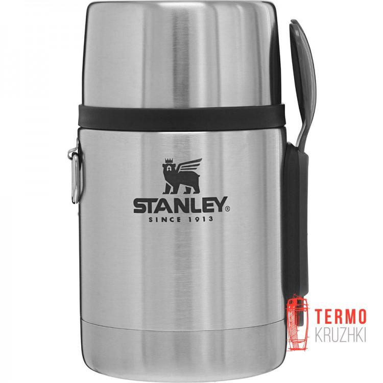 Термос пищевой с ложкой Stanley Adventure 0.5 л стальной