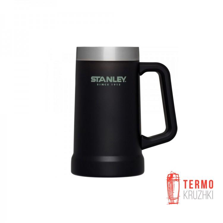Термокружка Stanley Adventure Stein (0.7 Л черная)