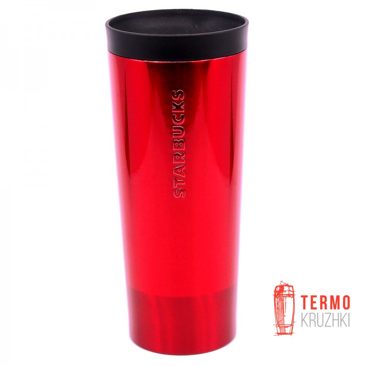 Термокружка Starbucks Shimmer Red Steel Tumbler 473 мл
