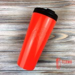 Термокружка Starbucks Logo Orange Steel Tumbler 473 мл