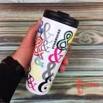 Термокружка Starbucks Multicolor Stainless Steel Tumbler 473 мл