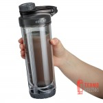 Шейкер с двойными стенками Contigo Insulated Shaker Bottles 710 мл Black