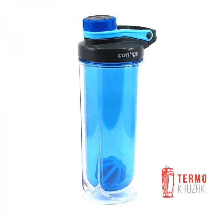 Шейкер с двойными стенками Contigo Insulated Shaker Bottles 710 мл Blue