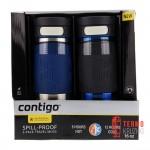 Набор из двух термокружек Contigo Metra Transit Autoseal Steel 470 ml