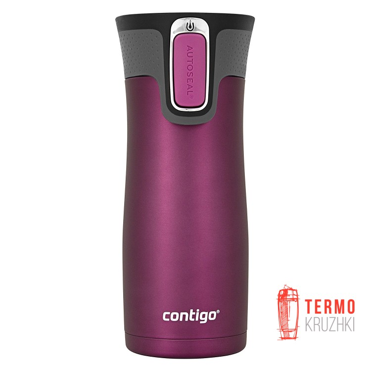 Термокружка Contigo West Loop Matte, Radiant Orchid 470 мл