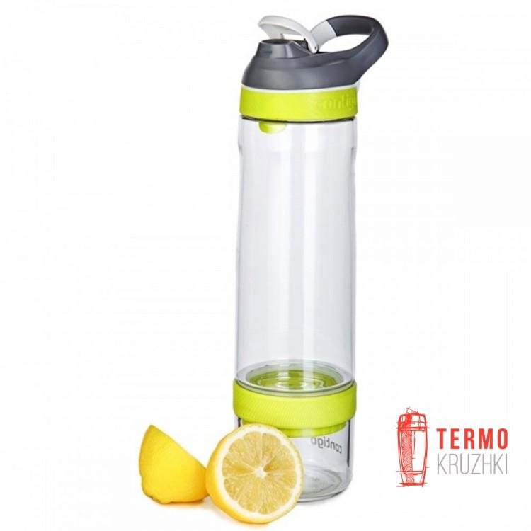 Бутылка для воды и напитков Contigo Cortland Infuser 770 мл Vibrant Lime