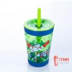 Стакан детский Contigo Spill Proof Tumbler 420 мл Зеленый