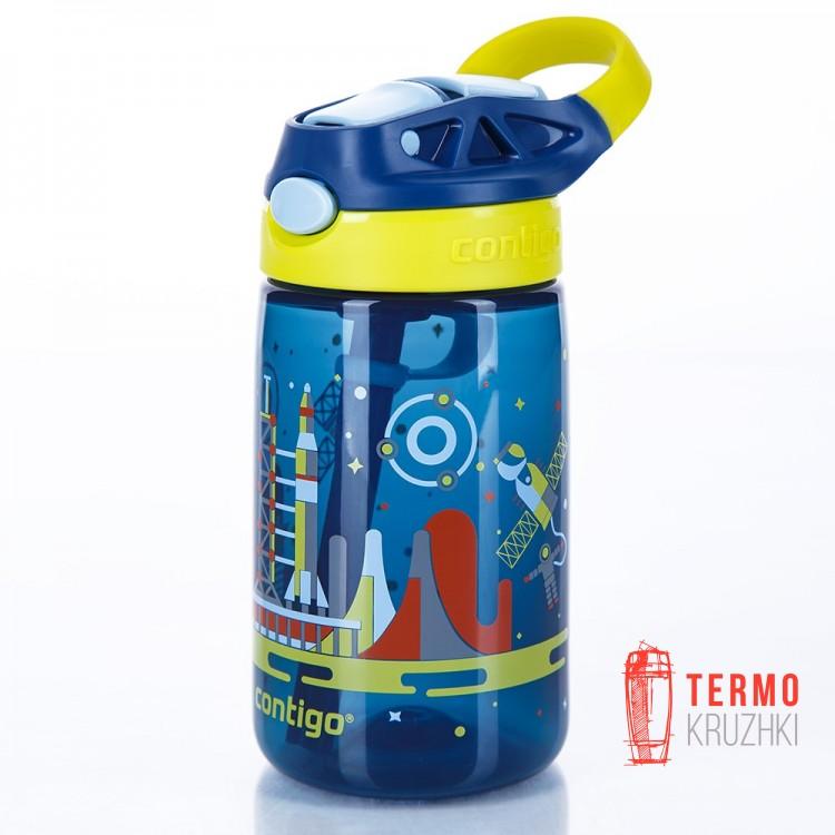Детская бутылка для воды Contigo Gizmo Flip 420ml