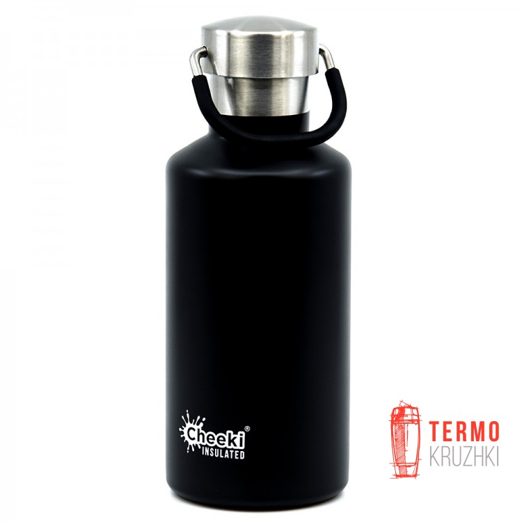 Детский термос Cheeki Classic Insulated, 400 ml, Matte Black
