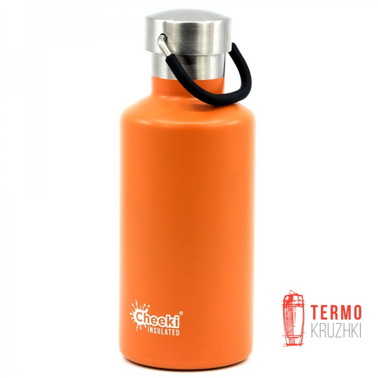 Детский термос Cheeki Classic Insulated, 400 ml, Orange