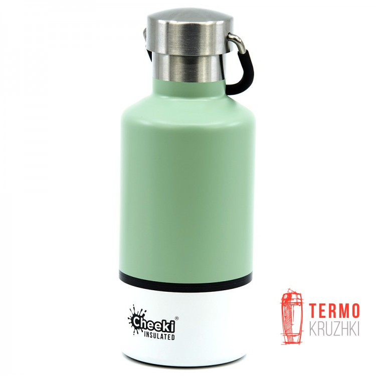 Детский термос Cheeki Classic Insulated, 400 ml, Pistachio White