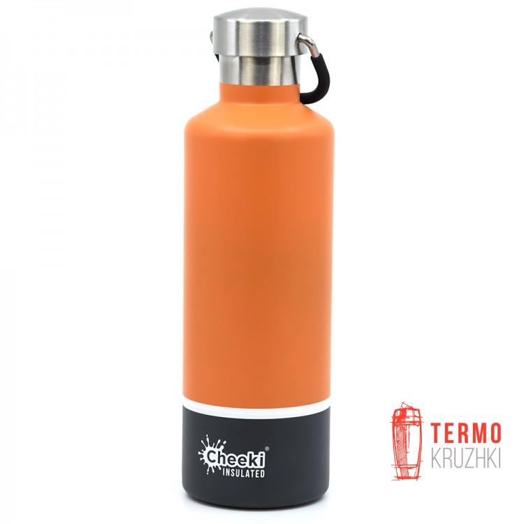 Термос Cheeki Classic Insulated, 600 ml, Orange Grey