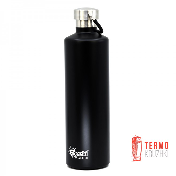 Термос Cheeki Classic Insulated, 1 литр, Matte Black