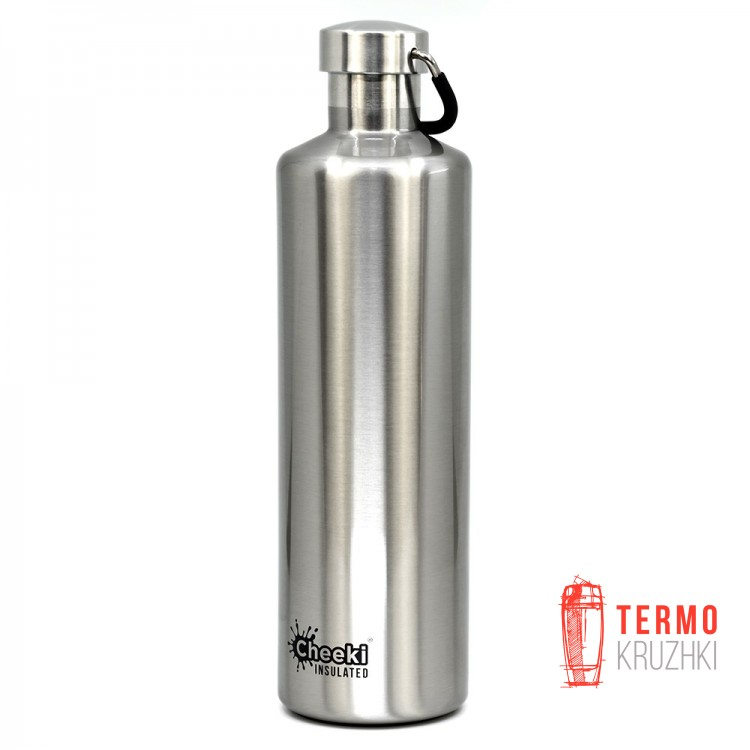 Термос Cheeki Classic Insulated, 1 литр, Silver