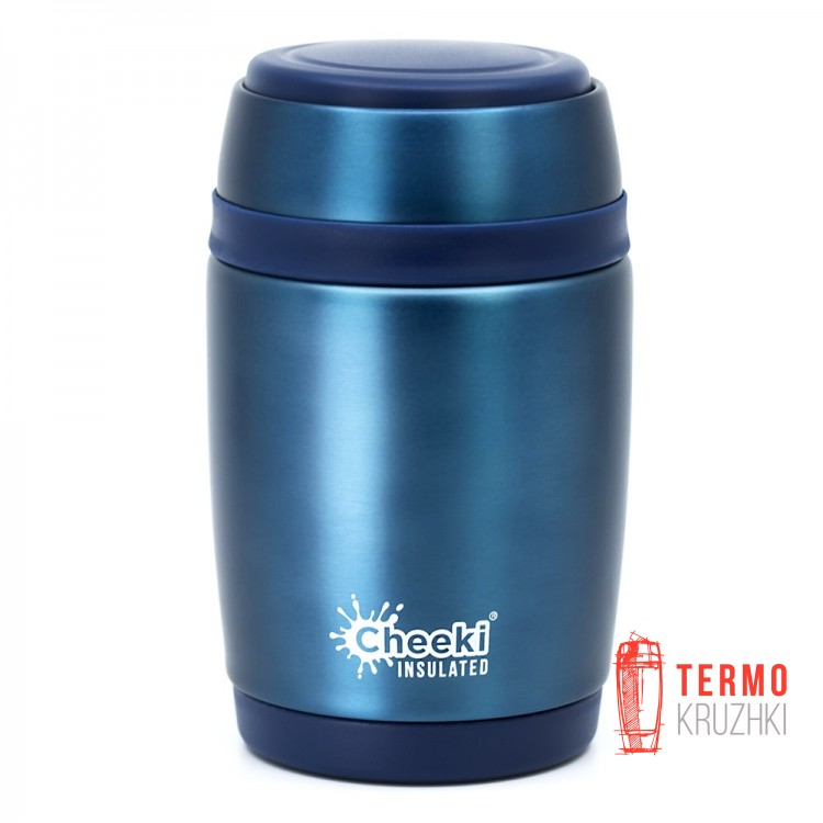 Термос для еды Cheeki Food Jar, 480 ml, Blue