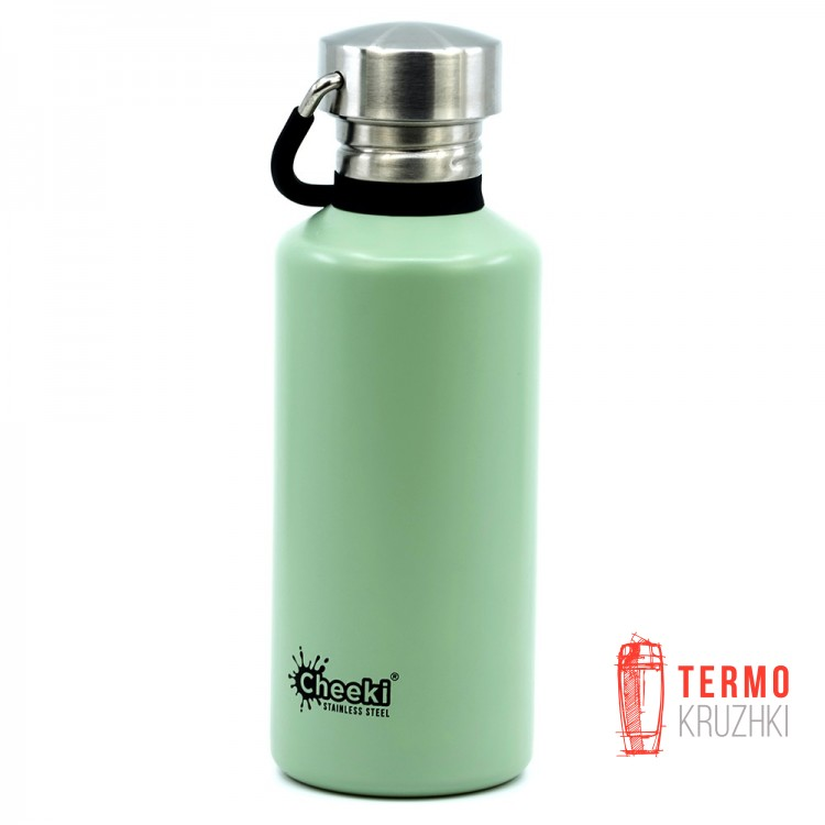 Детская бутылка для воды Cheeki Classic Single Wall, 500 ml, Pistachio