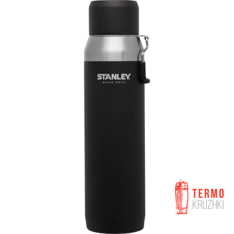Термос Stanley Master Vacuum Water Bottle (1 Л черный)